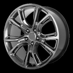 17x8 5x127 OE Creations Replica Wheels PR137 Hyper Silver Dark 34 offset 71.5 hub