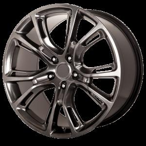 20x10 5x127 OE Creations Replica Wheels PR137 Hyper Black 50 offset 71.5 hub