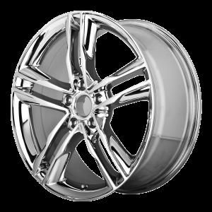 16x7.5 5x112 OE Creations Replica Wheels PR141 Chrome 35 offset 66.6 hub