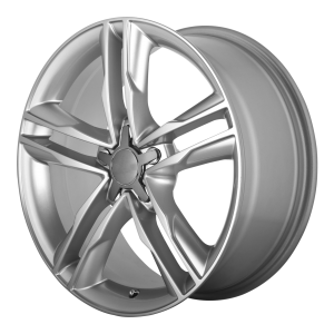 16x7.5 5x112 OE Creations Replica Wheels PR141 Hyper Silver 35 offset 66.6 hub