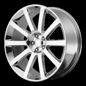 20x9 5x115 OE Creations Replica Wheels PR146 Chrome 26 offset 71.5 hub