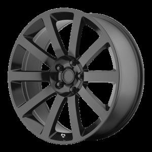 20x9 5x115 OE Creations Replica Wheels PR146 Gloss Black 26 offset 71.5 hub