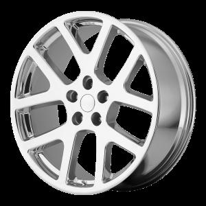 20x9 5x115 OE Creations Replica Wheels PR149 Chrome 18 offset 71.5 hub