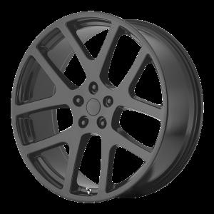 20x9 5x115 OE Creations Replica Wheels PR149 Matte Black 19 offset 71.5 hub