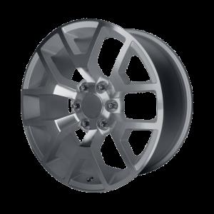20x9 6x139.7 OE Creations Replica Wheels PR150 Silver Machined 27 offset 78.3 hub