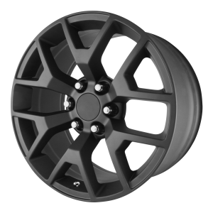 20x9 6x139.7 OE Creations Replica Wheels PR150 Matte Black 27 offset 78.3 hub