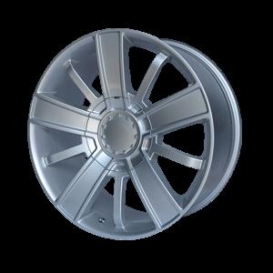 20x9 6x139.7 OE Creations Replica Wheels PR153 Silver 27 offset 78.3 hub