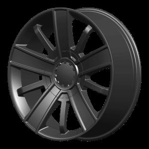 20x9 6x139.7 OE Creations Replica Wheels PR153 Satin Black 27 offset 78.3 hub