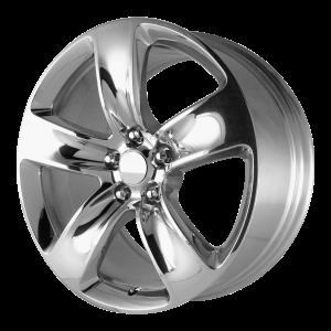 20x9 5x127 OE Creations Replica Wheels PR154 Polished 34 offset 71.5 hub