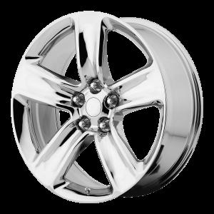 20x10 5x127 OE Creations Replica Wheels PR154 Chrome 50 offset 71.5 hub