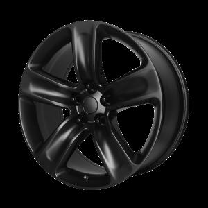 20x10 5x127 OE Creations Replica Wheels PR154 Semi Gloss Black 50 offset 71.5 hub