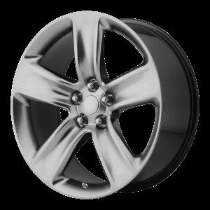 20x9 5x127 OE Creations Replica Wheels PR154 Hyper Silver 34 offset 71.5 hub