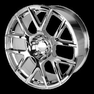 20x9 5x115 OE Creations Replica Wheels PR163 Chrome 20 offset 71.5 hub