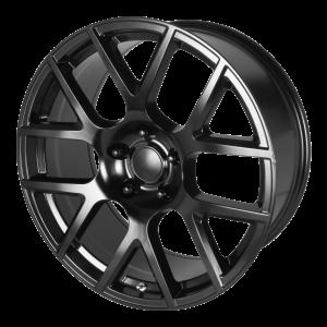 20x9 5x115 OE Creations Replica Wheels PR163 Satin Black 20 offset 71.5 hub