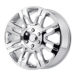 20x8.5 6x135 OE Creations Replica Wheels PR167 Chrome 44 offset 87.1 hub