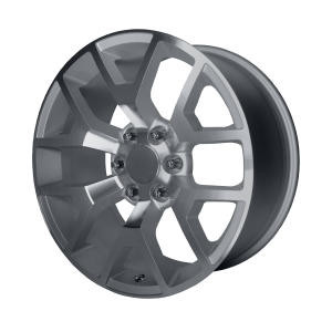 20x9 6x139.7 OE Creations Replica Wheels PR169 Silver With Machined Spokes 27 offset 78.3 hub