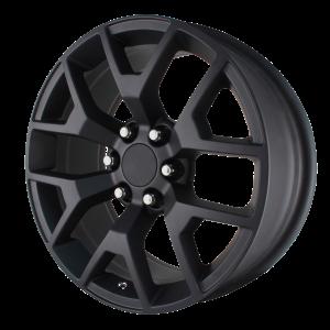 20x9 6x139.7 OE Creations Replica Wheels PR169 Matte Black 27 offset 78.3 hub