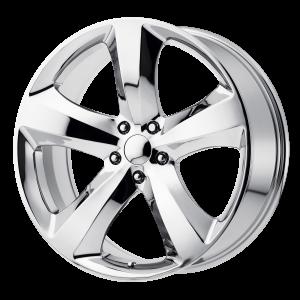 20x8 5x115 OE Creations Replica Wheels PR170 Chrome 24 offset 71.5 hub