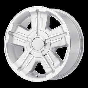 18x8 6x139.7 OE Creations Replica Wheels PR173 Silver 30 offset 78.3 hub
