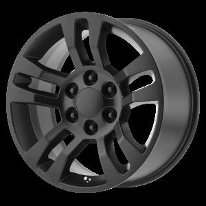 18x8 6x139.7 OE Creations Replica Wheels PR175 Satin Black 24 offset 78.3 hub