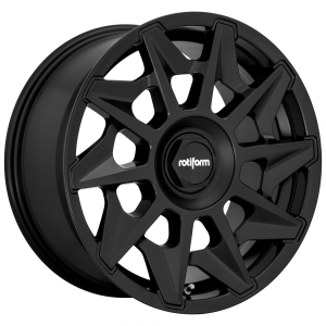 18x8.5 5x100/5x112 Rotiform Wheels R129 CVT Matte Black 35 offset 66.56 hub