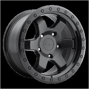 17x9 5x120 Rotiform Wheels R151 SIX-OR Matte Black 20 offset 65.07 hub