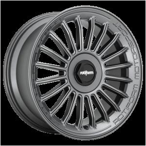 19x8.5 5x100/5x112 Rotiform Wheels R160 BUC-M Matte Anthracite 35 offset 66.6 hub