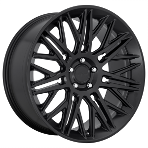 22x10 5x112 Rotiform Wheels R164 JDR Matte Black 20 offset 66.5 hub