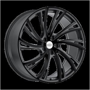20x9.5 5x120 RedBourne Wheels Noble Gloss Gunmetal With Gloss Black Face 32 offset 72.56 hub