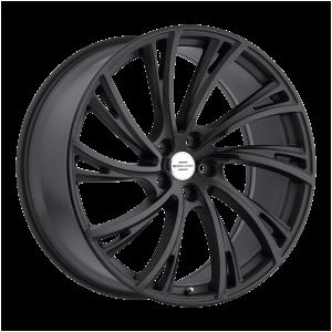20x9.5 5x120 RedBourne Wheels Noble Matte Black 32 offset 72.56 hub