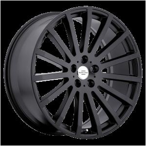 20x9.5 5x120 RedBourne Wheels Dominus Matte Black 32 offset 72.56 hub