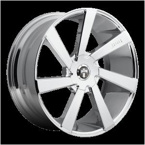 20x8.5  DUB Wheels S132 Directa Chrome Plated 10 offset 78.1 hub