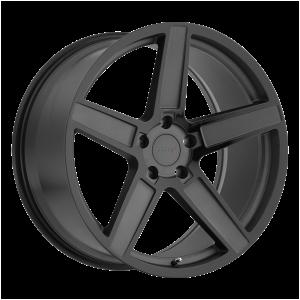 17x8 5x100 TSW Wheels Ascent Matte Gunmetal With Gloss Black Face 35 offset 72.1 hub