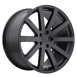 17x8 5x100 TSW Wheels Brooklands Matte Black 35 offset 72.1 hub