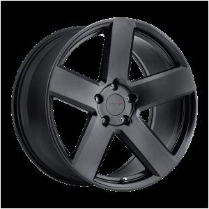 17x8 5x100 TSW Wheels Bristol Matte Black 35 offset 72.1 hub