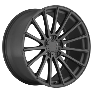 17x8 5x100 TSW Wheels Chicane Matte Gunmetal 35 offset 72.1 hub
