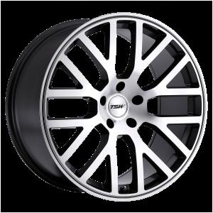 17x7 4x100 TSW Wheels Donington Gunmetal Mirror Cut Face 40 offset 72.1 hub