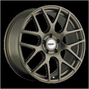 17x7.5 5x114.3 TSW Wheels Nurburgring Matte Bronze 45 offset 76.1 hub