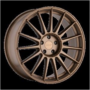 17x8 5x100 TSW Wheels Paddock Matte Bronze 35 offset 72.1 hub