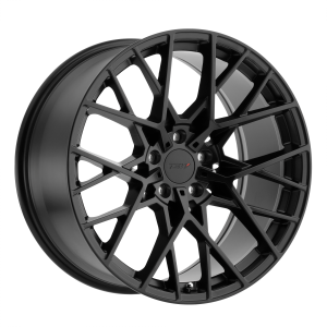 17x8 5x100 TSW Wheels Sebring Matte Black 35 offset 72.1 hub