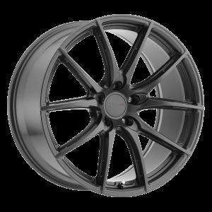 18x8.5 5x100 TSW Wheels Sprint Gloss Gunmetal 35 offset 72.1 hub