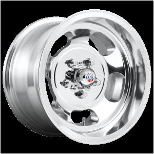 15x10 5x114.3 US Mag Wheels U101 Indy High Luster Polished -50 offset 72.56 hub