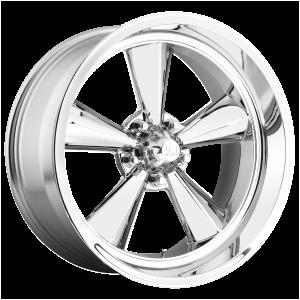 15x7 5x114.3 US Mag Wheels U104 Standard Chrome Plated -6 offset 72.56 hub