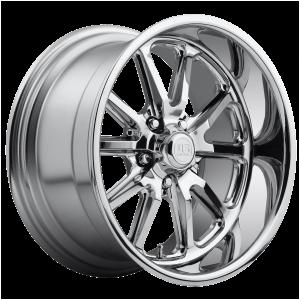 15x7 5x114.3 US Mag Wheels U110 Rambler Chrome Plated 1 offset 72.56 hub