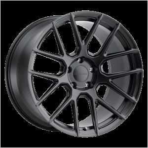 19x11 5x130 Victor Equipment Wheels Lohner Forged Matte Black 36 offset 71.5 hub