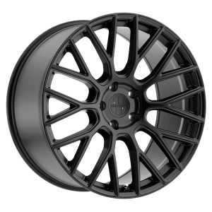 18x10 5x130 Victor Equipment Wheels Stabil Matte Black 50 offset 71.5 hub