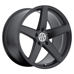 18x10 5x130 Victor Equipment Wheels Baden Matte Black 50 offset 71.5 hub
