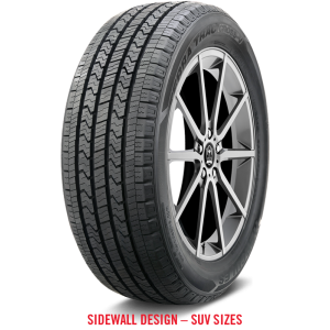 225/55R19 Hercules Tires Terra Trac Cross-V  Tires 99V 600AA Performance All Season