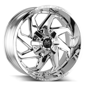 20x10 Off Road Monster Wheels M09 6x135 -19 ET 106.4 hub - Chrome