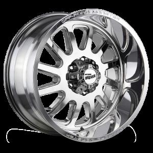 17x9 Off Road Monster Wheels M17 5x127 -19 ET 78.1 hub - Chrome